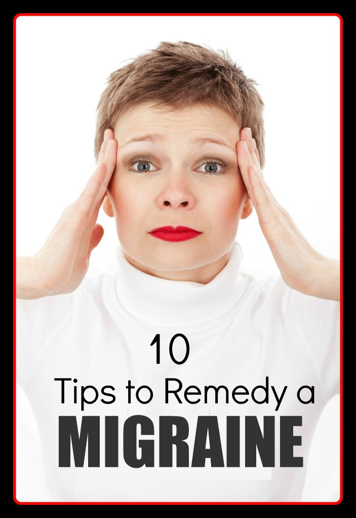 I could have used these tips when I had my migraine last weekend!