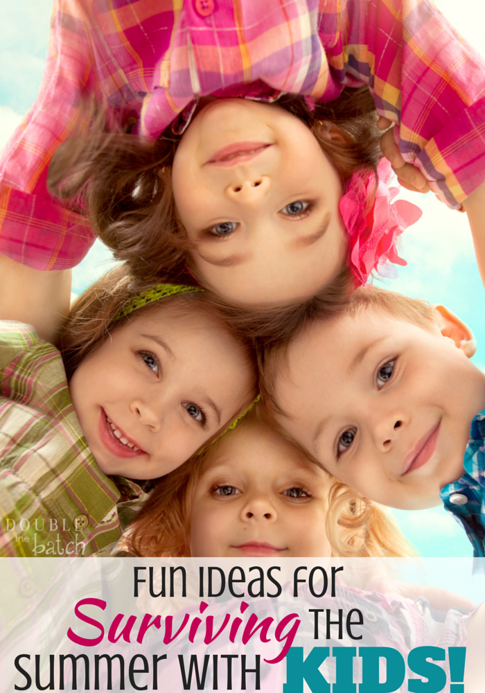 Great ideas! Looking forward to summer activities with my kids this year!