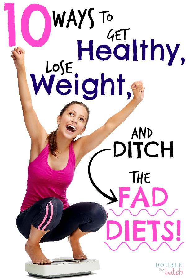 Tired of temporary fad diets that never last! I just want to be healthy and get on with LIFE!