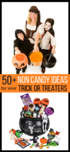 Ideas For Non-Candy Halloween Treats