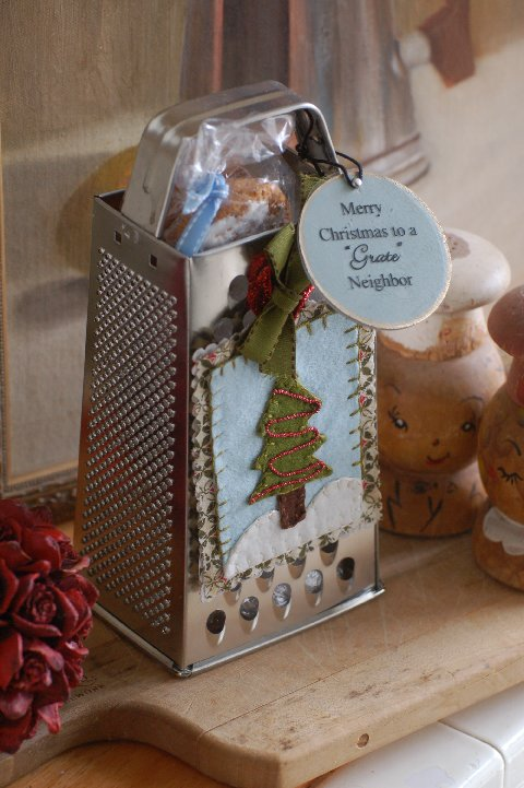 "Merry Christmas to a ""Grate"" Neighbor by Mel Designs"