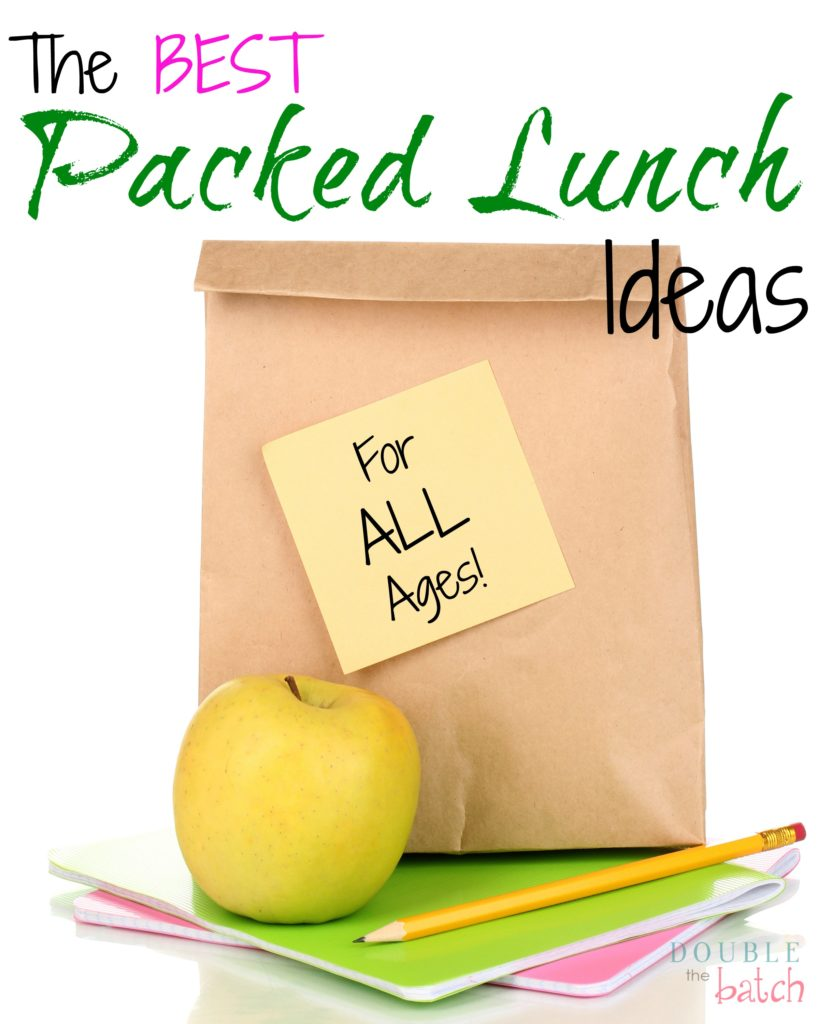the best packed lunch ideas
