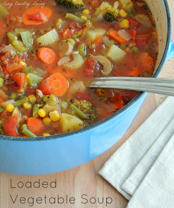 Vegetable Soup by Cozy Country Living