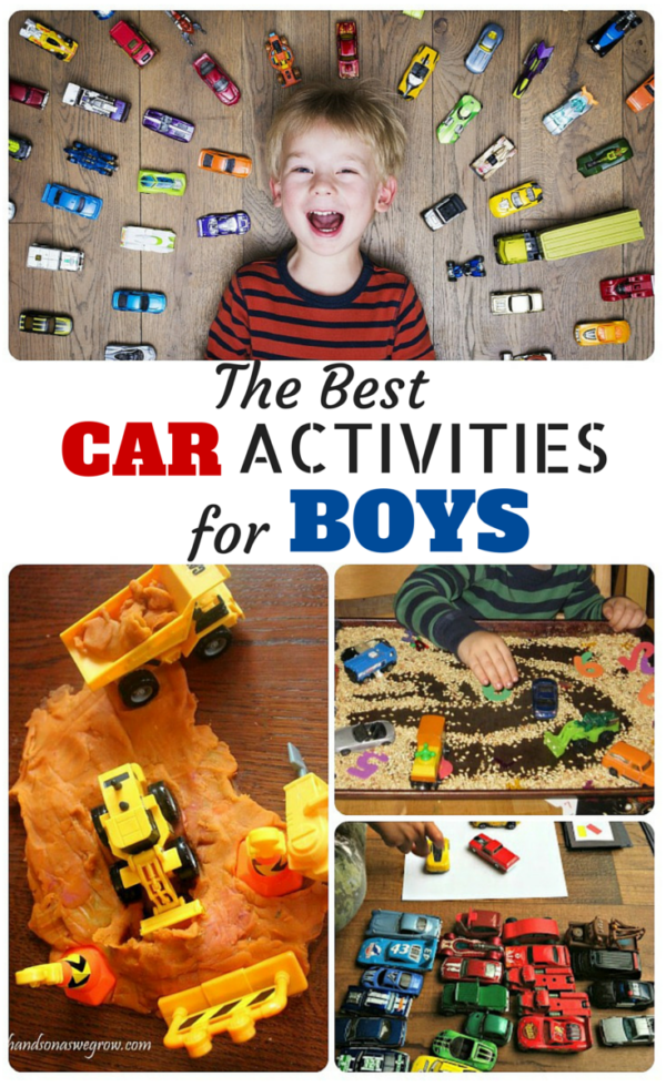 Car Activities For Toddlers Best Car Activities For Boys