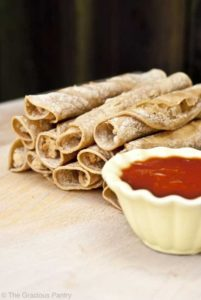 DIY Clean Eating Taquitos