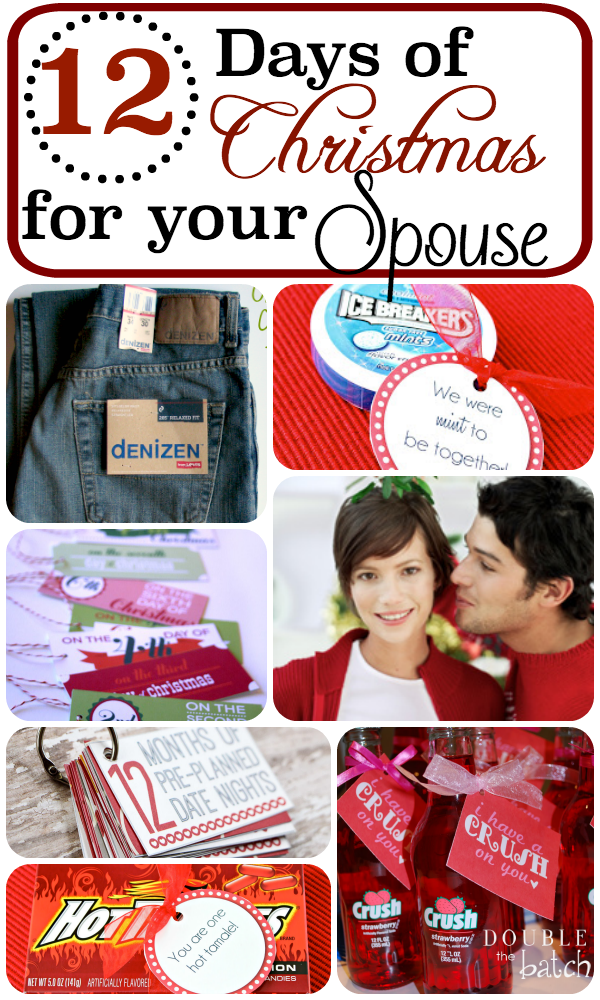 12 days of christmas for your husband - 12 Days Of Christmas Gift Ideas For Him