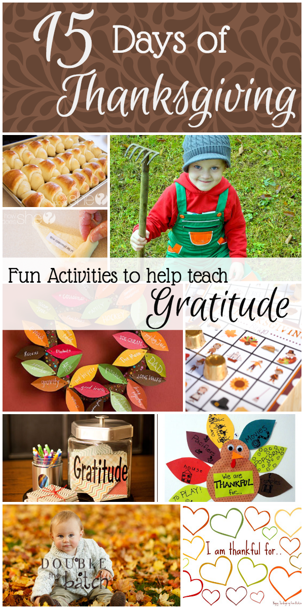Gratitude Activities For Children