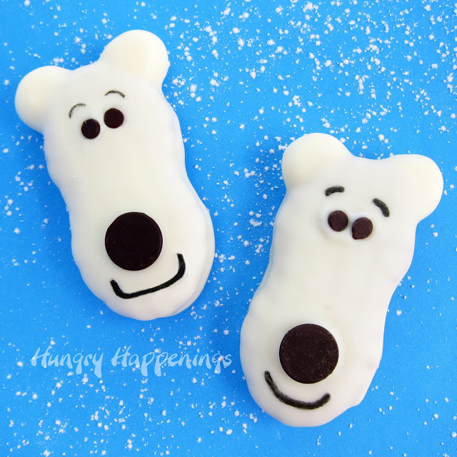Nutter Butter Polar Bears by Hungry Happenings