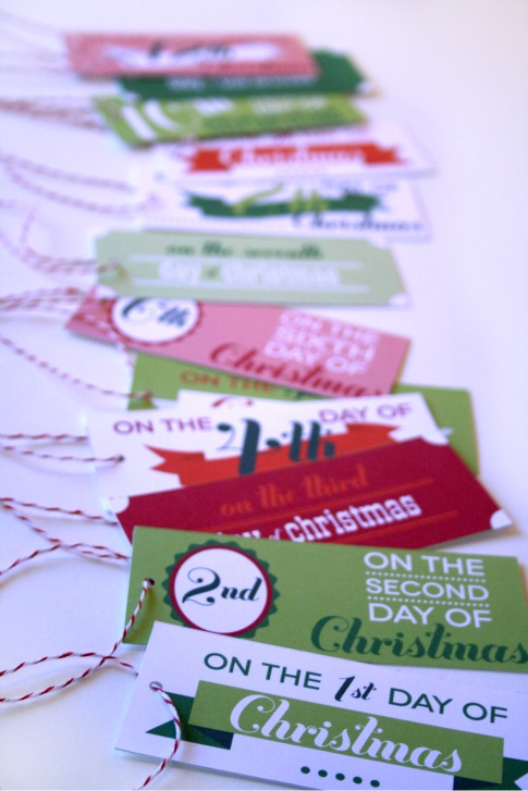 12 days of christmas poem gift ideas