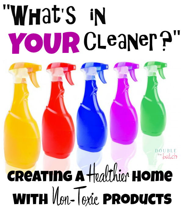 Tired of all the fumes? Wondering if the air in your house is better or worse after you clean? Discover why we switched to non toxic cleaners!