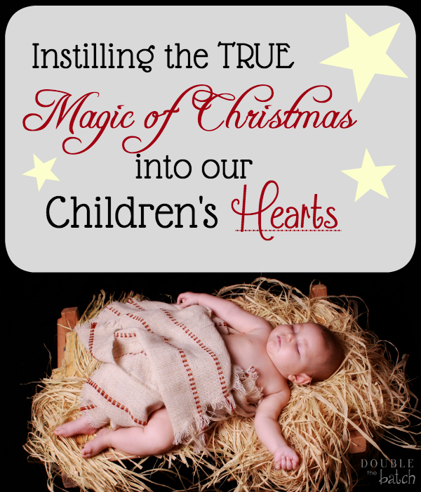 Take a break from the holiday rush and celebrate the True magic of Christmas with your family!
