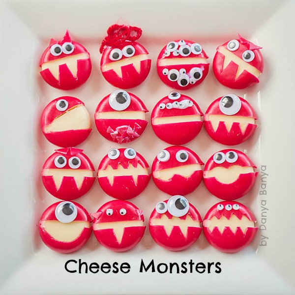 Cheese Monsters by Danya Banya