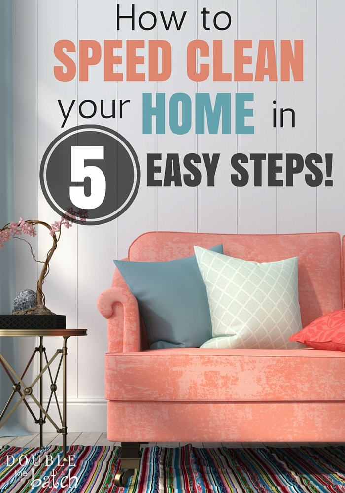 From Chaos to Clean in 5 Easy Steps