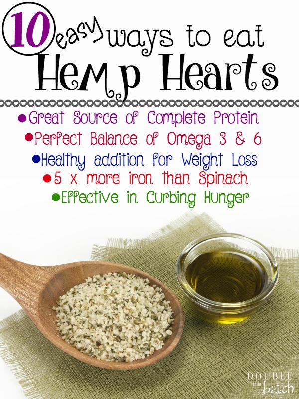 how to eat unshelled hemp seeds