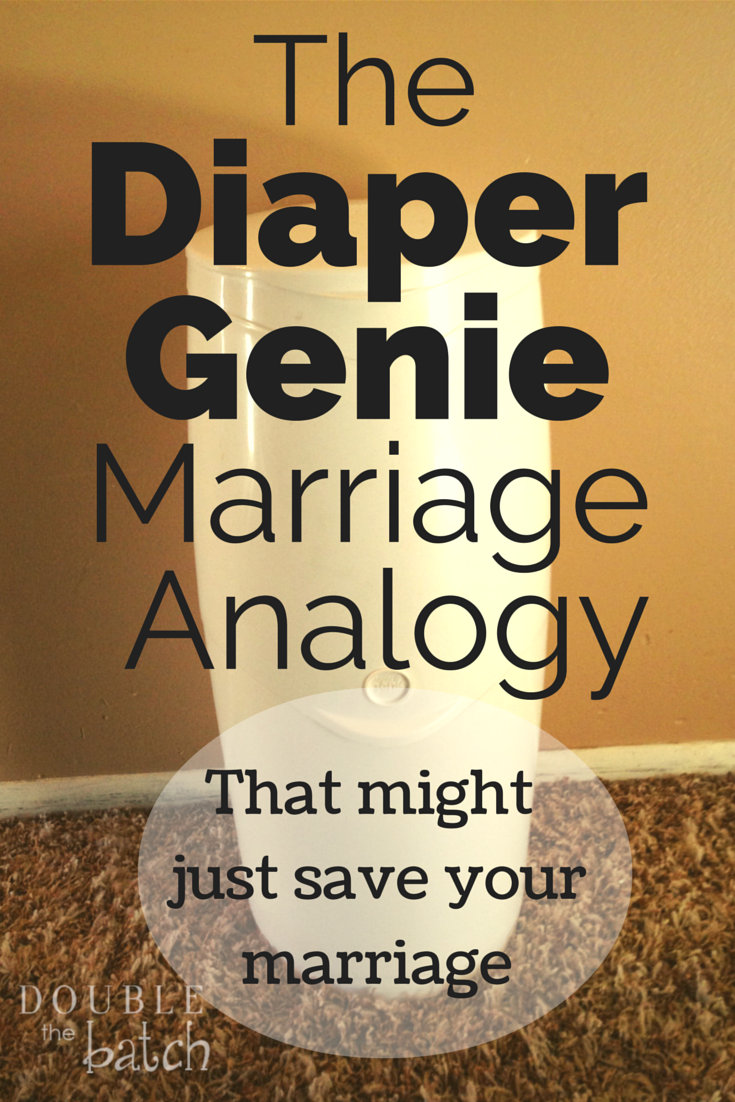 The Bestmarriage advice...straight from your diaper genie!