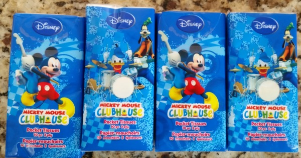 Mickey Mouse Pocket Tissues