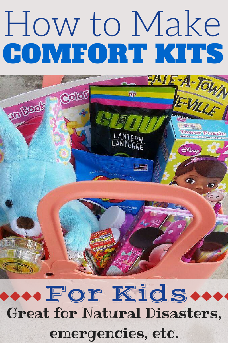 I need to include this as part of my emergency preparedness! During any time of crisis, a comfort kit for my kids could be invaluable! (Kids DIY, projects, activities)