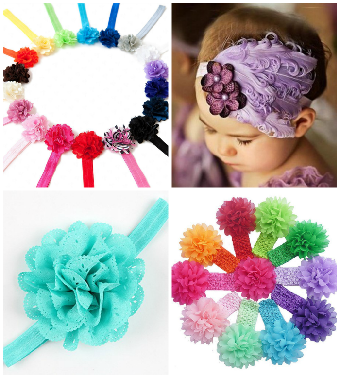 How to get flower headbands for a buck or less!