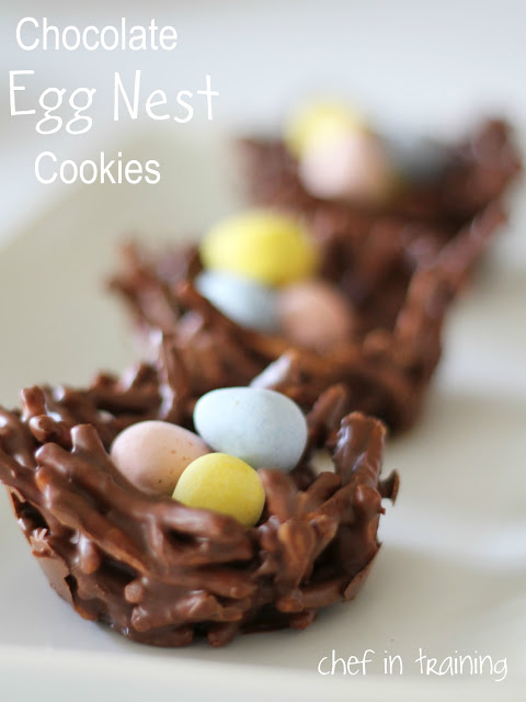 Chocolate Egg Nest from Chef in Training