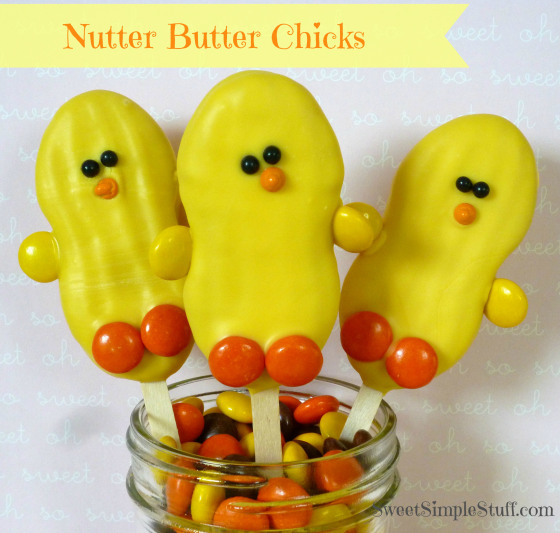 Nutter Butter Chicks from Sweet Simple Stuff
