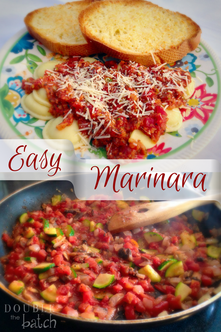 Easy Homeade Marinara Sauce