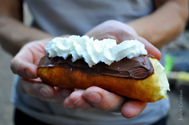Campfire Eclairs via Biglers Recipes