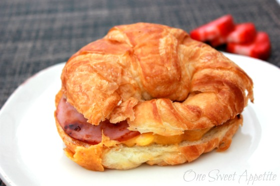Breakfast Sandwich via One Sweet Appetite