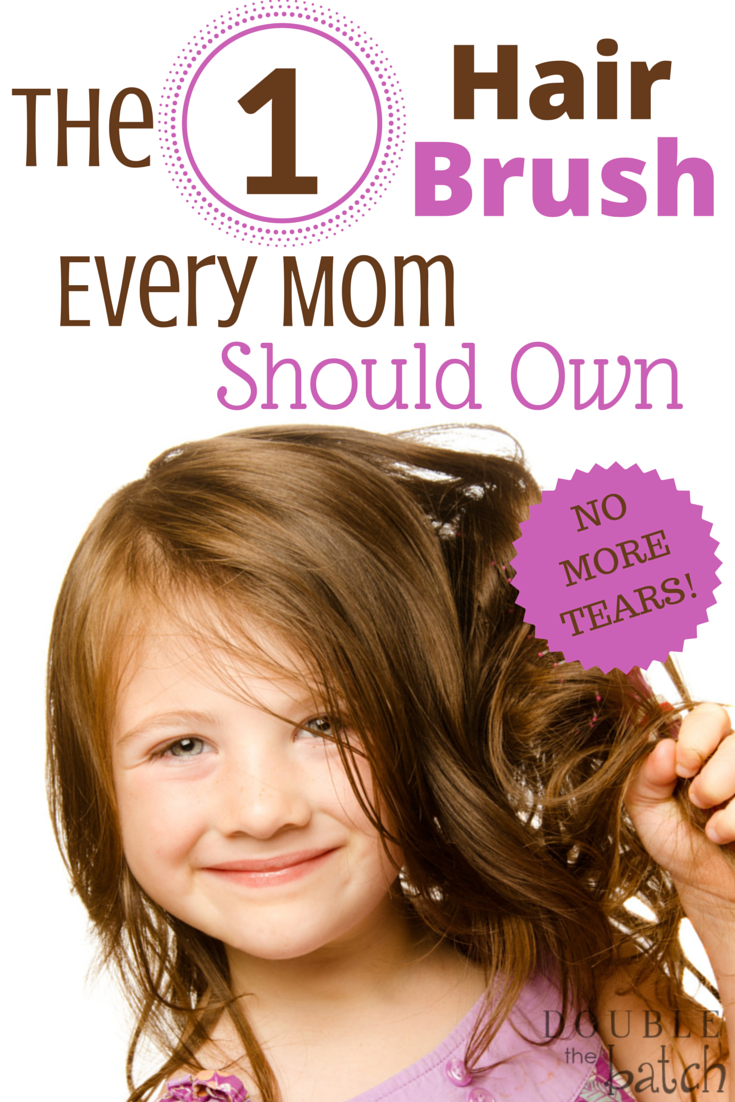 This brush changed my life! No more tears at our house.