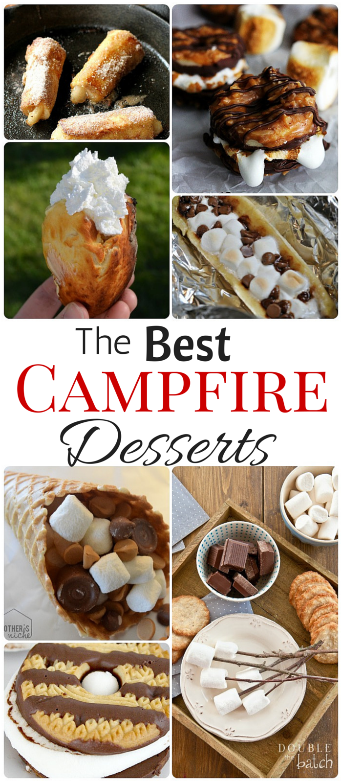 Best Campfire Desserts Easy Camping Dessert Reipes Smores