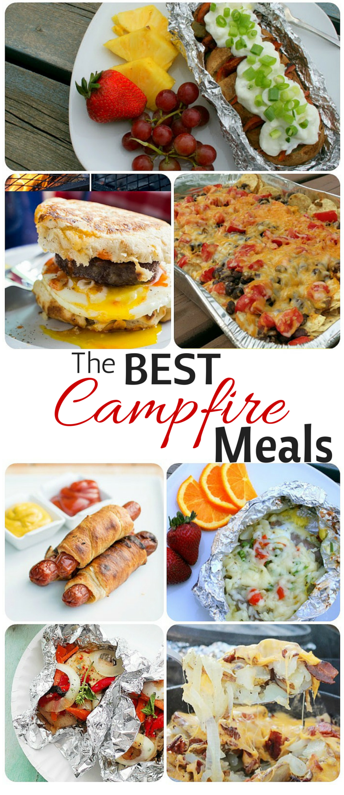 Simple and Easy Camping Meals! Breakfast, Lunch, Dinner