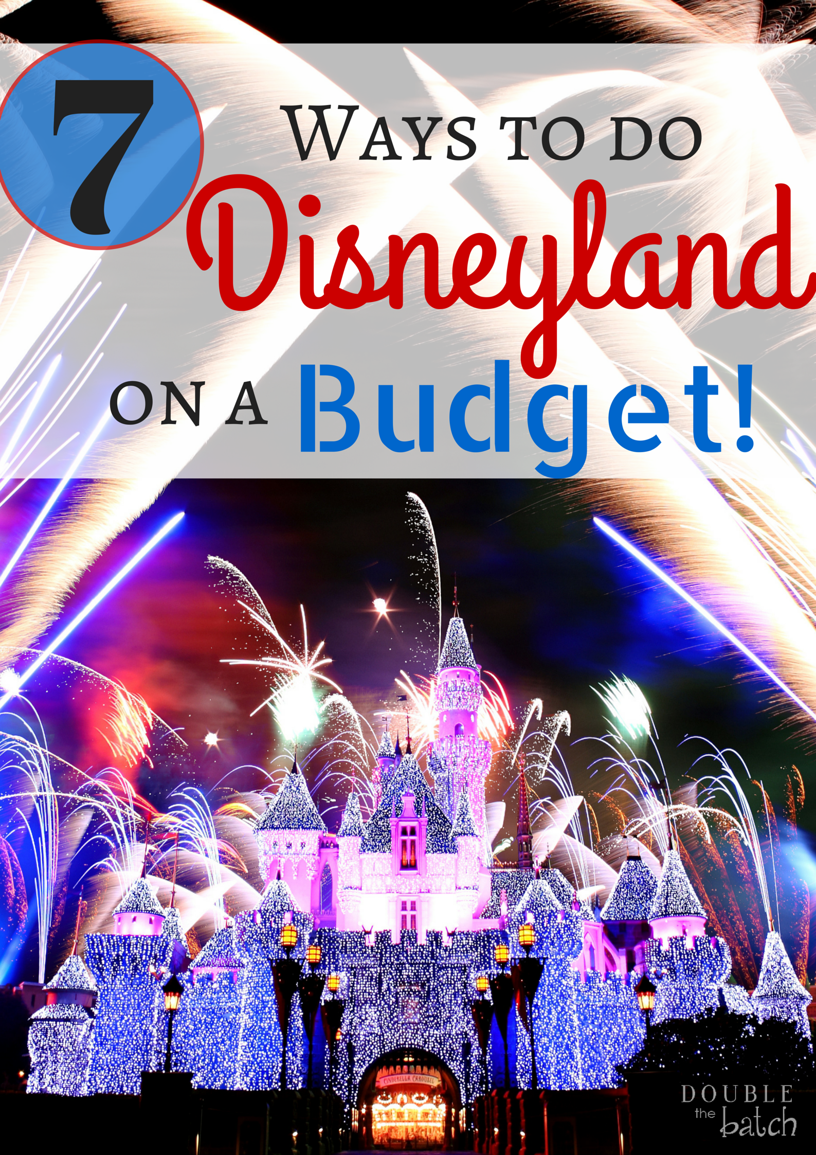 The happiest place on earth just got better! How to do Disneyland on a small budget. My family just went this summer and I learned a lot of things I would do differently next time to save a big wad of cash!