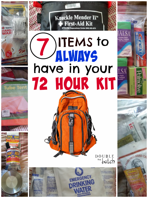 How To Make 72 Hours Kits For Kids
