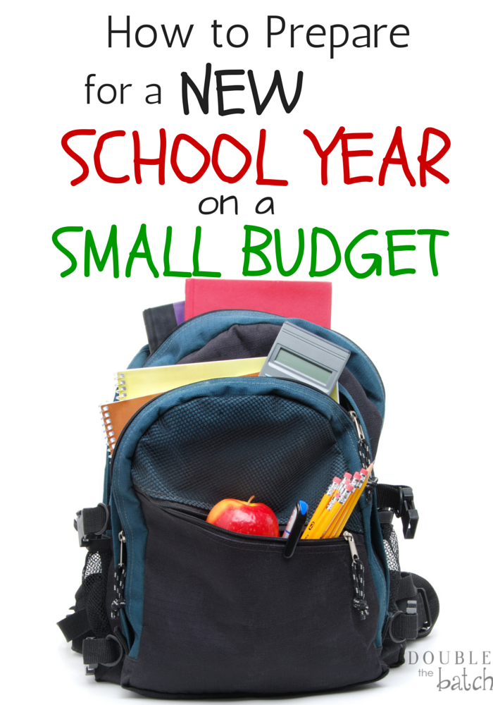 Love these tips! Preparing for a new school year can be hard on a small budget!
