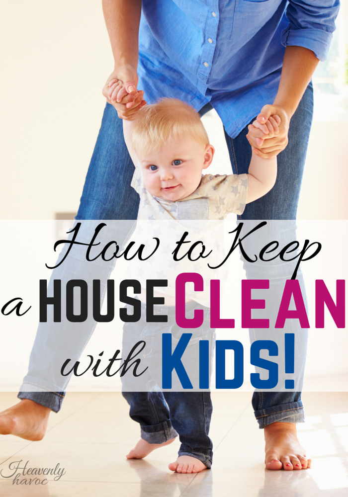 Keep a house clean with KIDS? How do other moms do it?? This secret might just make you laugh! #DoubletheBatch