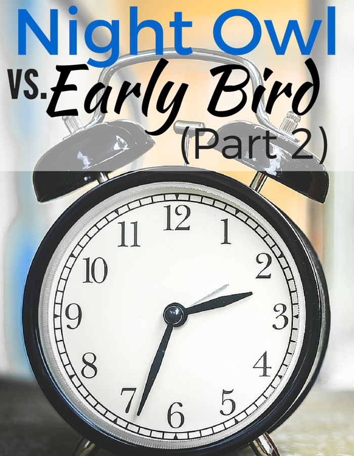 Do early birds really have a bigger edge on life than night owls? Follow my night owl vs. early bird journey to see!!