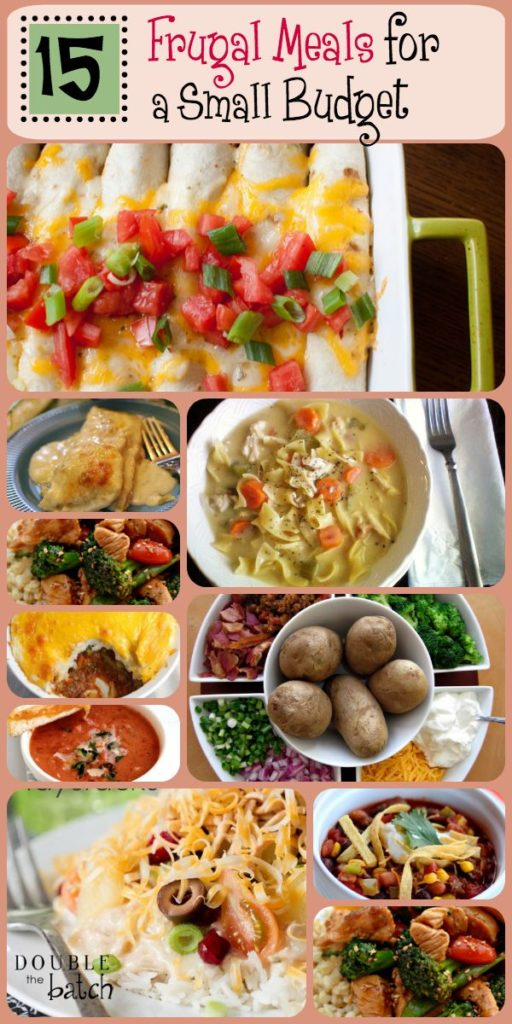 Meals For a Small Budget