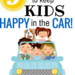 9 Great Ways to Keep Kids Happy in the Car!