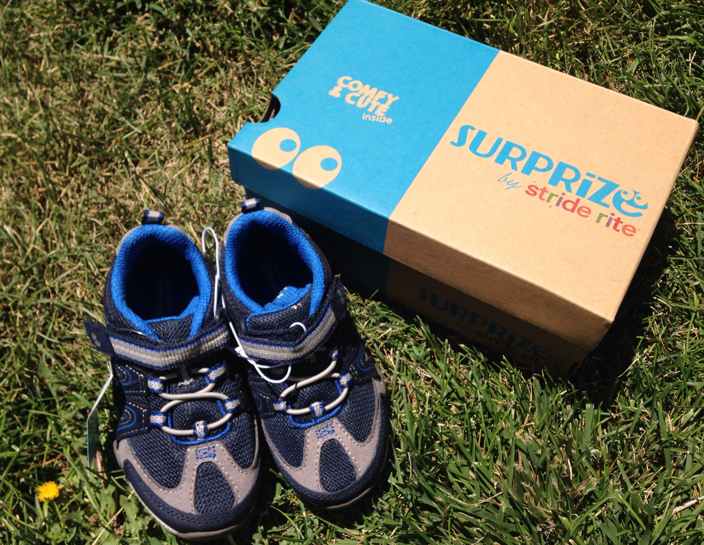 Surprize by Stride Rite at Target -cozy, comfy, cute, and durable Children't shoes to keep up with your little adventurer!