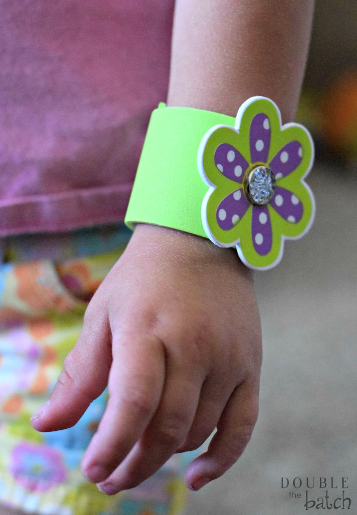 how to make Foam Bracelets for kids