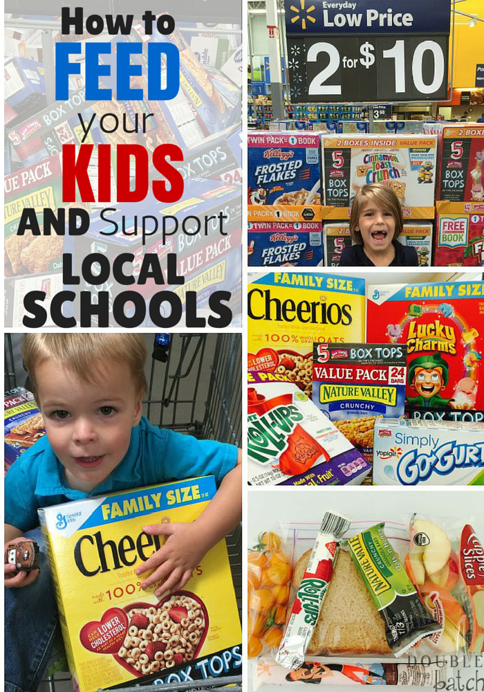 Here's an easy way to support your local school with the food you already buy for your family to eat! #sponsored #ad