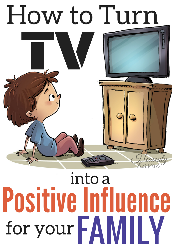 I was just about to throw our TV in the garbage because I was so fed up with the excess viewing and the damaging effect it was having on my kids. Instead, we decided to turn TV into a positive influence on our family!