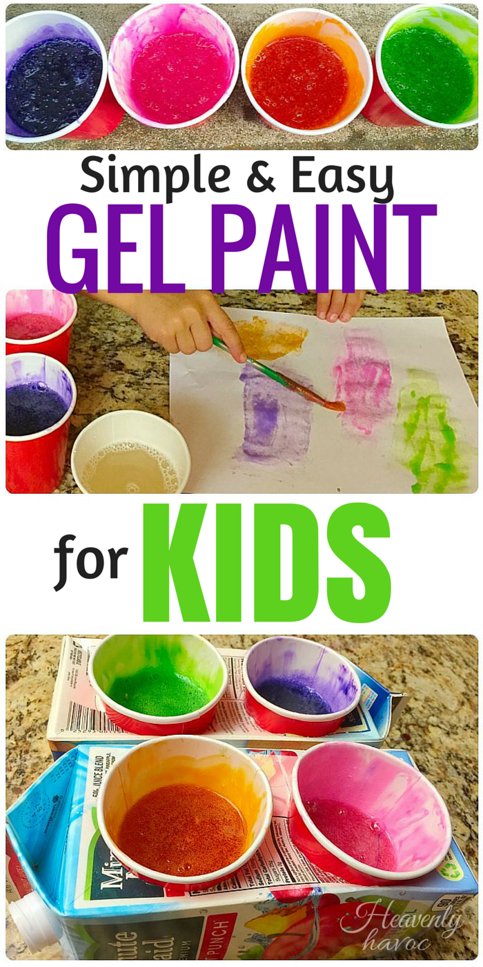 This has got to be the EASIEST kids paint I have ever made! IT works great in the bathtub too!