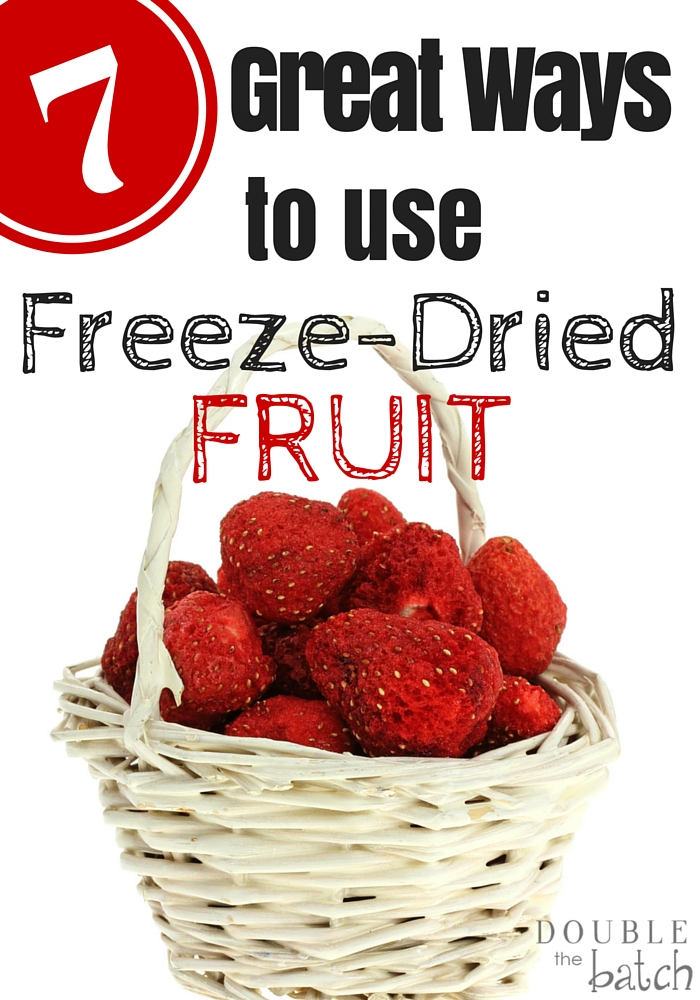 Great ways to incorporate freeze dried fruit into your everyday meals!