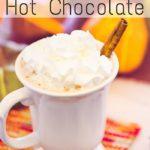 Pumpkin Spice Hot Cocoa Recipe