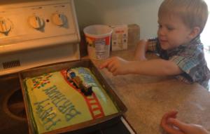 Pinterest-free birthday parties