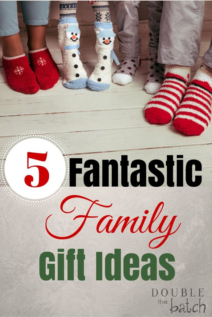 5 awesome gifts the whole whole family can enjoy together.