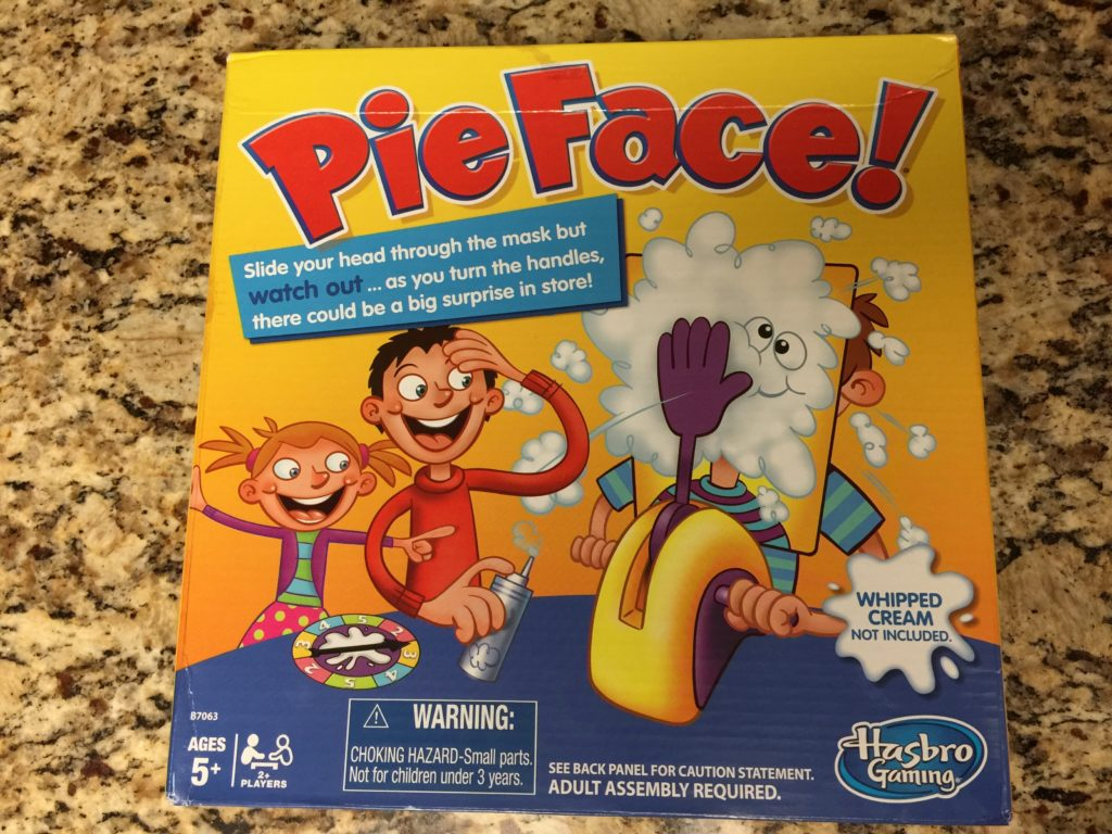 Ready to get your #PieFace on? My family had such a blast with this game! #IC #ad