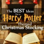 Harry Potter Themed Christmas Stocking