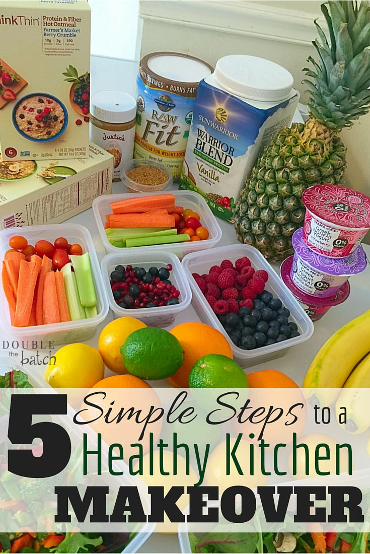 We totally got this! These 5 simple steps will transform our kitchen into a healthy zone for our whole family!