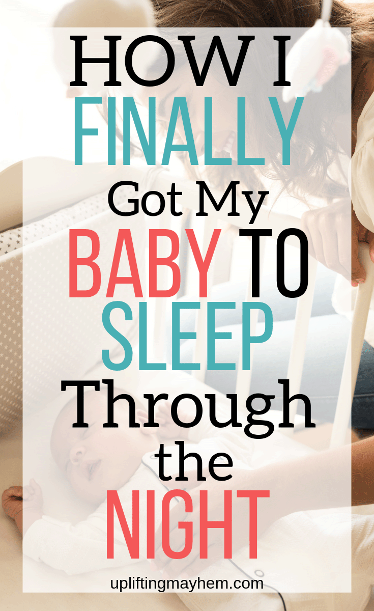 How I finally got my baby of 15 months to sleep through the night! I was beyond exhausted and I didn't know that some of the things I was doing was actually making it worse!!